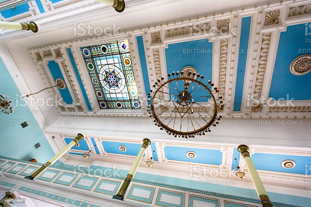 Synagogue in Riga stock photo