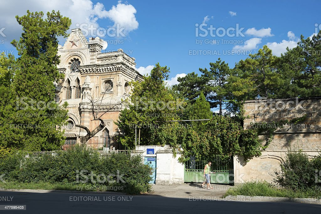 Synagogue in the former Soviet Union - Simferopol, Crimea stock photo