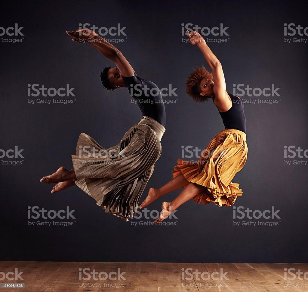 Synchronisity stock photo