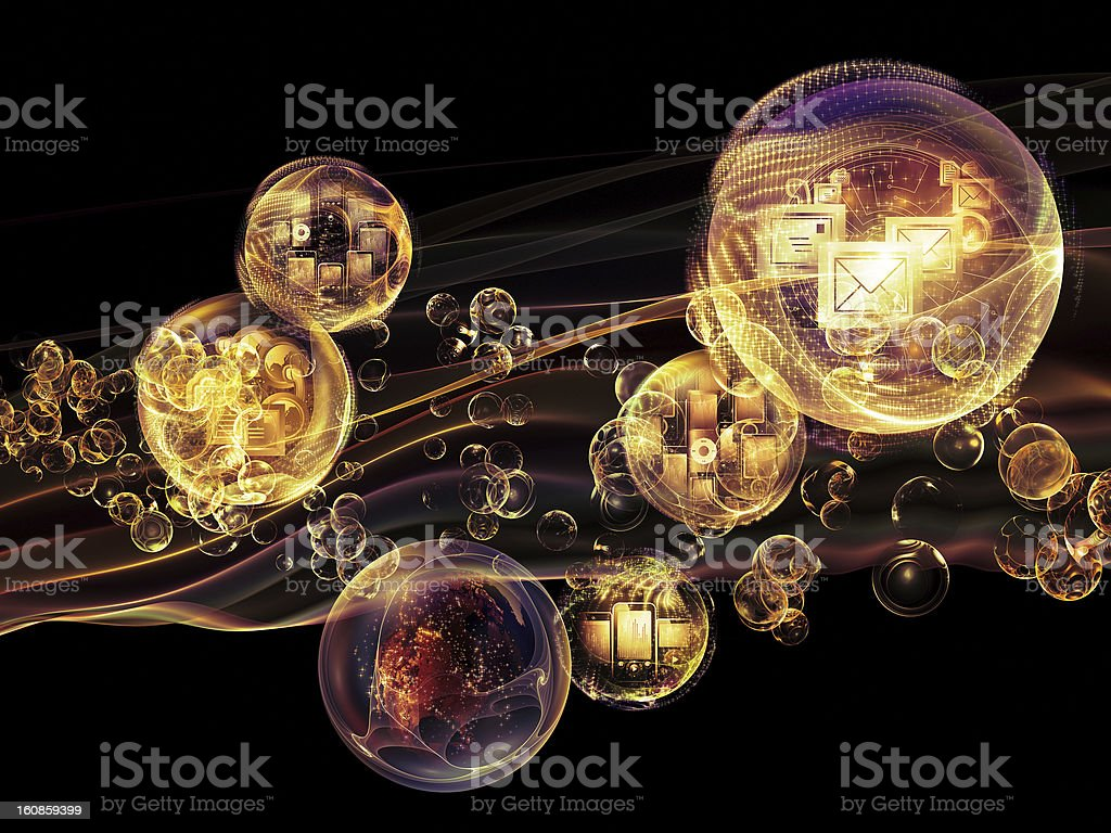 Synergies of Information royalty-free stock photo