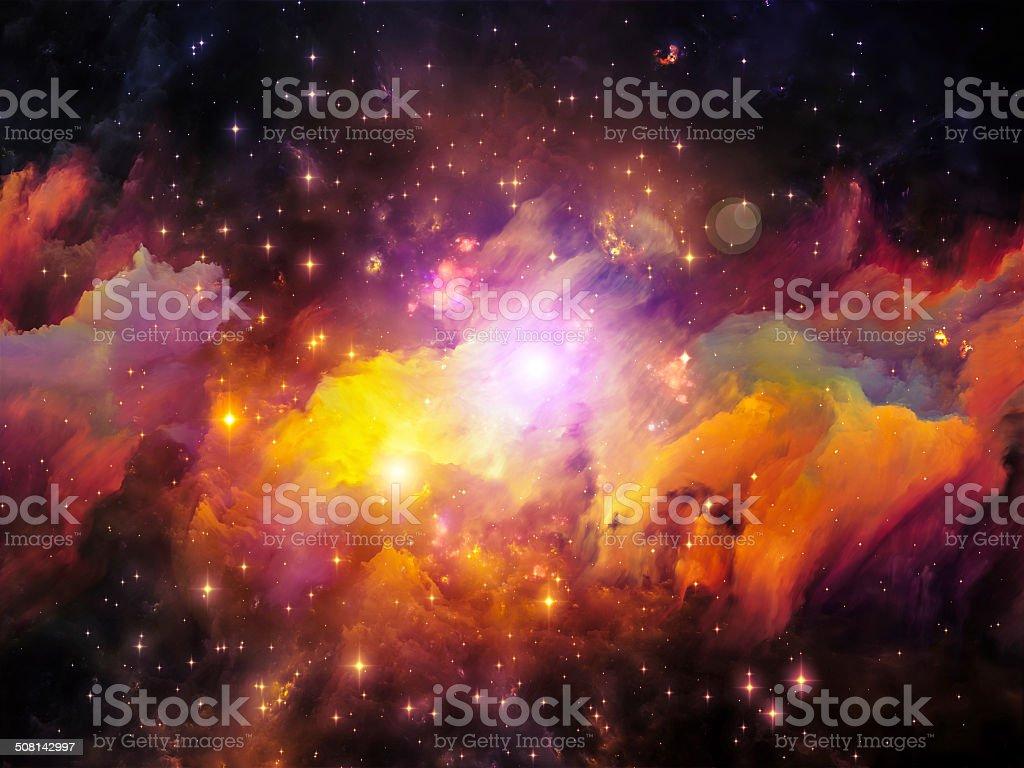 Synergies of Nebula stock photo