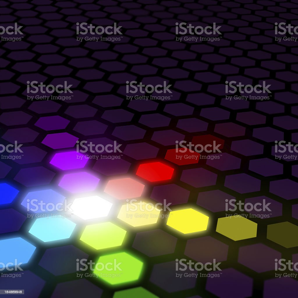 Synergy Colour Spectrum Abstract royalty-free stock photo