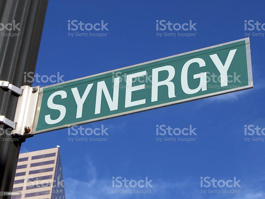 Synergy royalty-free stock photo