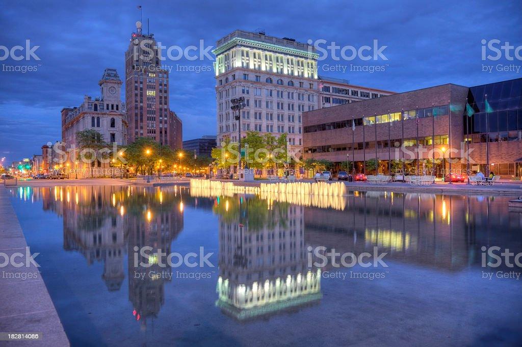 Syracuse royalty-free stock photo