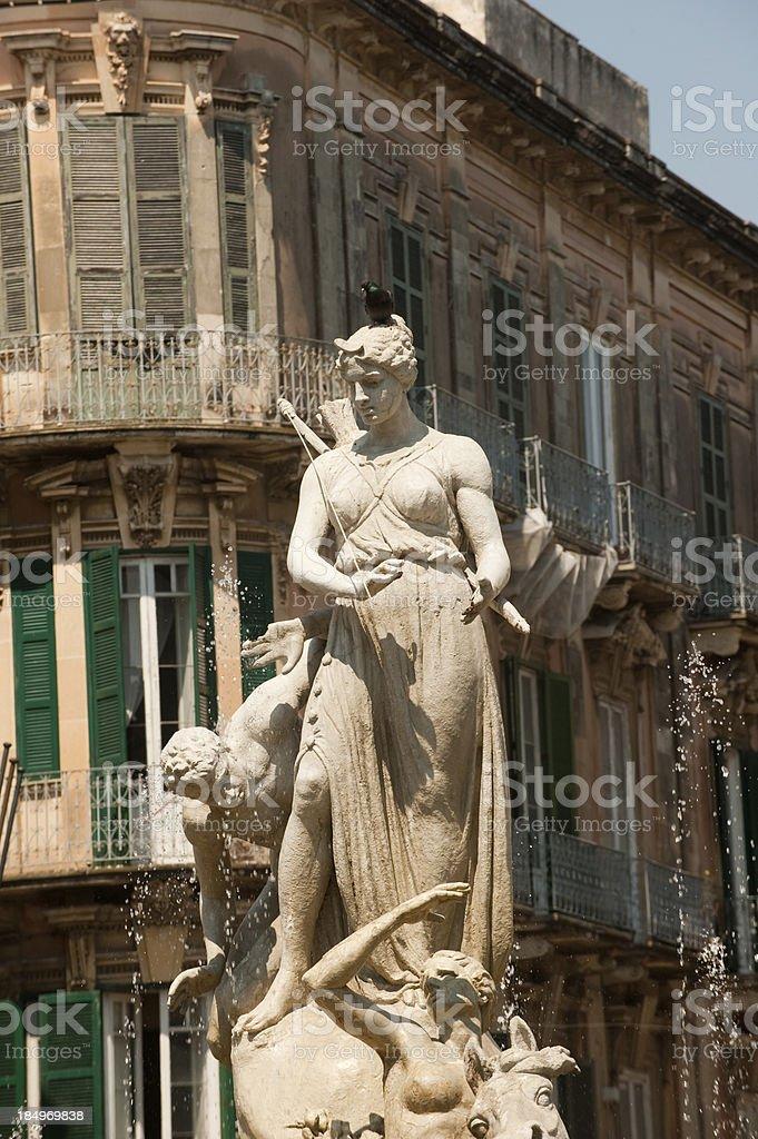 Syracuse Sicily, Italy royalty-free stock photo
