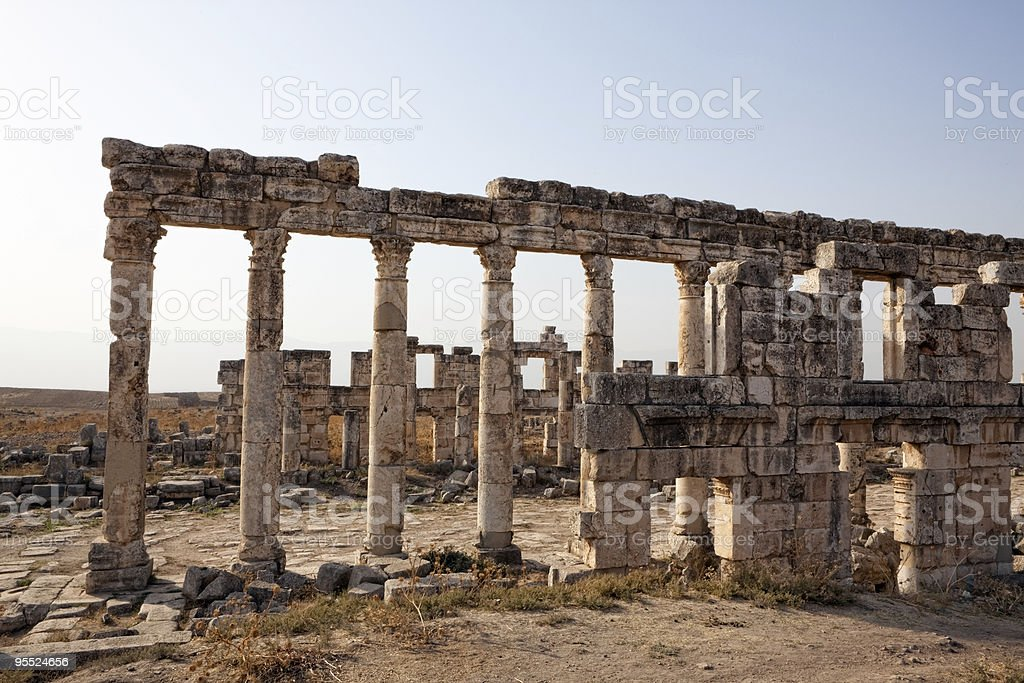 Syria - Apamea stock photo