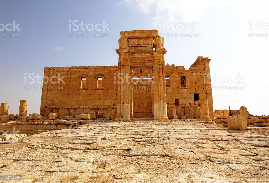 Syria - Palmyra (Tadmor) royalty-free stock photo