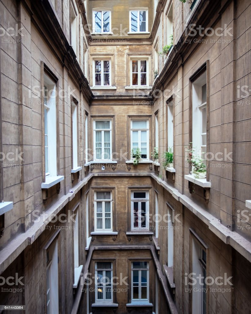 Syria Passage Building stock photo
