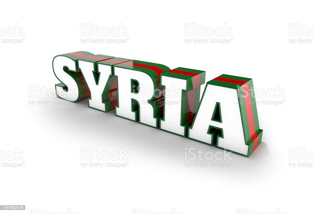 Syria stock photo