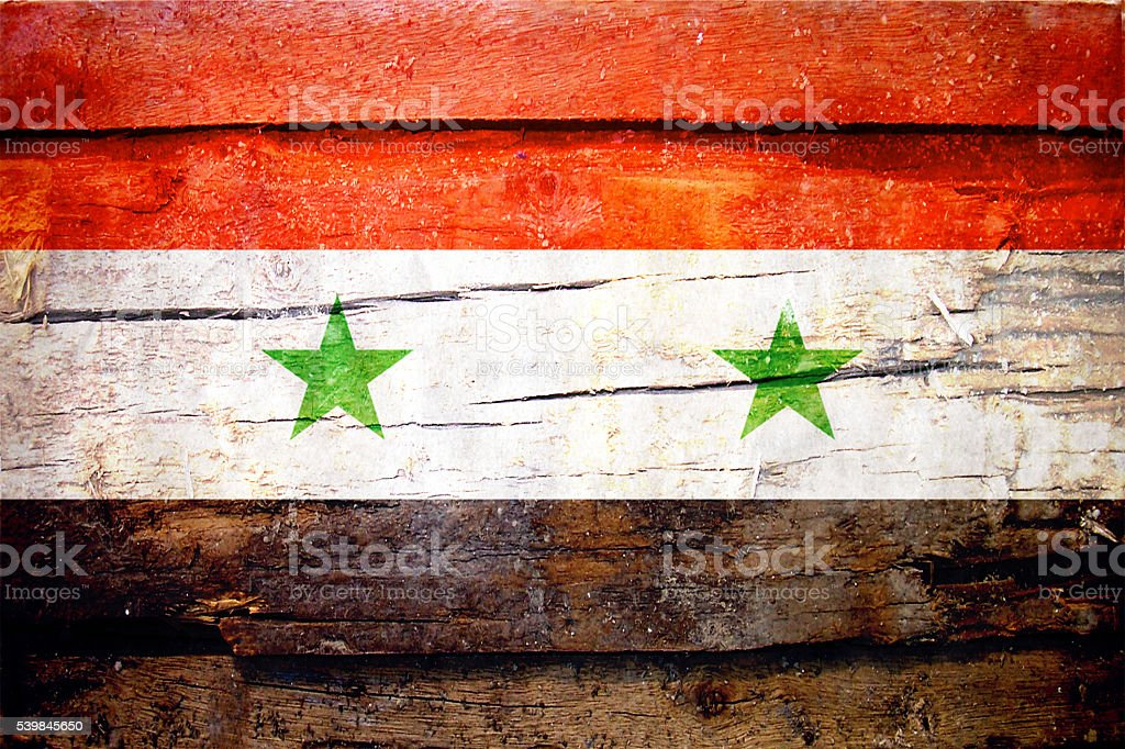 Syrian Flag - Syria stock photo