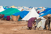 Syrian IDP camp (Atmeh, Syria)