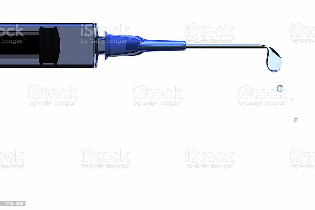 Syringe royalty-free stock photo
