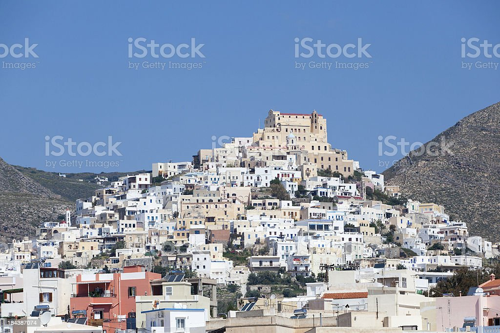 Syros Island in Greece royalty-free stock photo