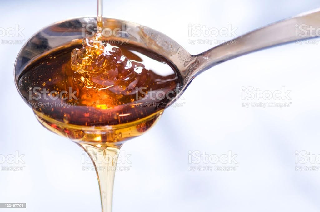 Syrup Drizzle stock photo