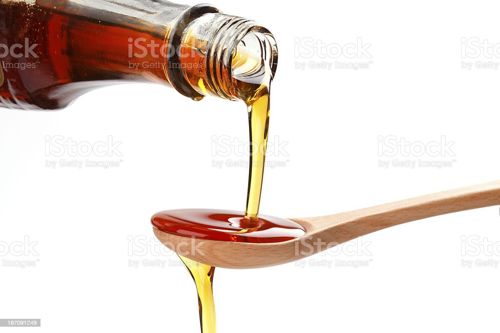 syrup royalty-free stock photo