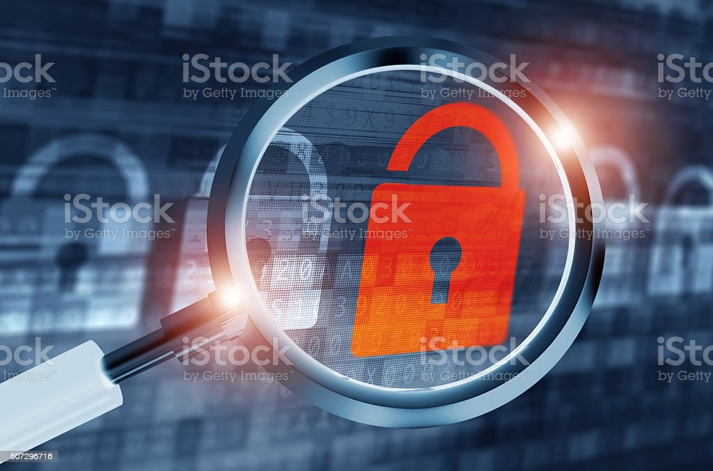System Backdoor Search stock photo