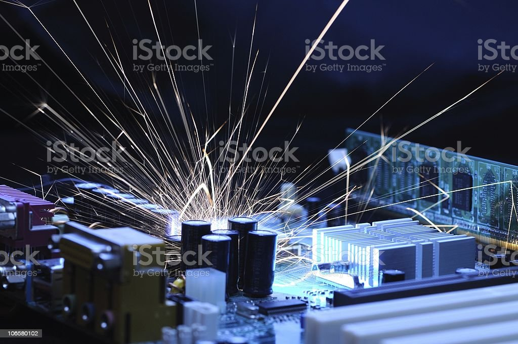 System failure royalty-free stock photo