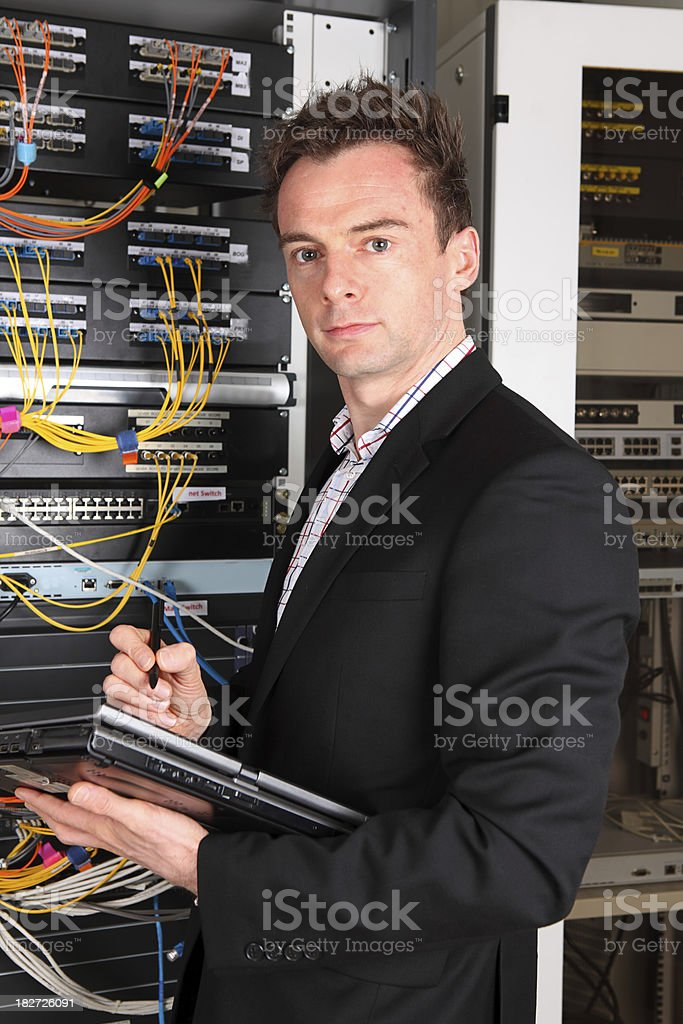 System Manager stock photo