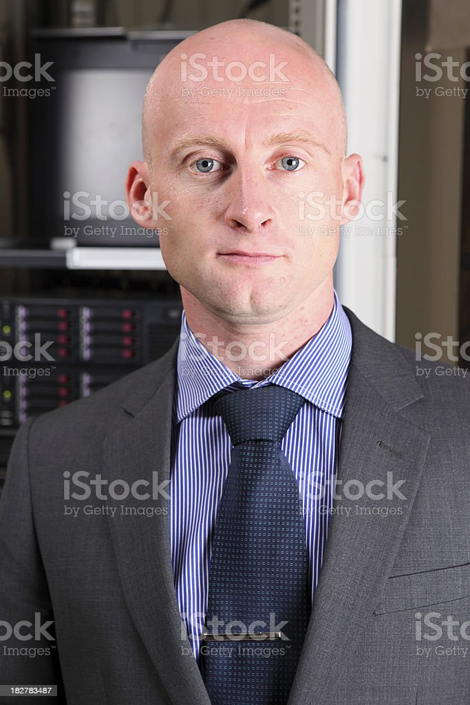 System Manager royalty-free stock photo