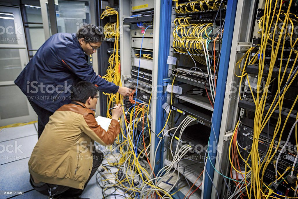 System Managers stock photo