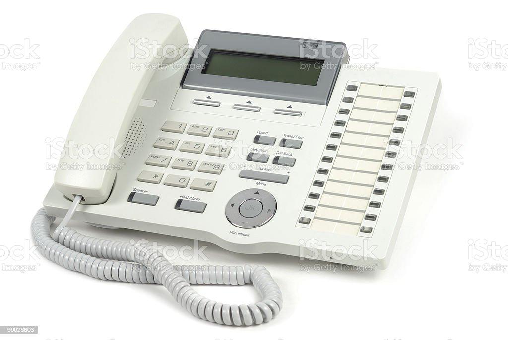 System Telephone stock photo