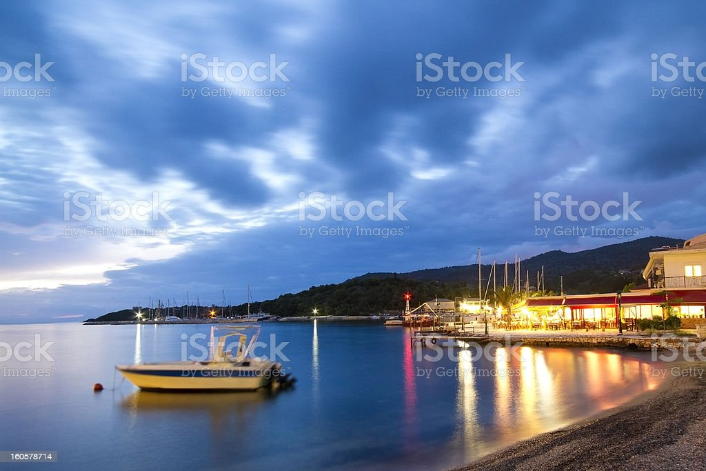 Syvota royalty-free stock photo