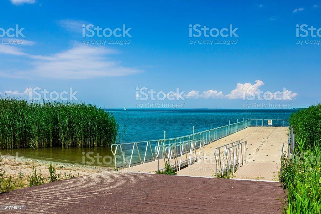 Szczecin Lagoon, Poland stock photo