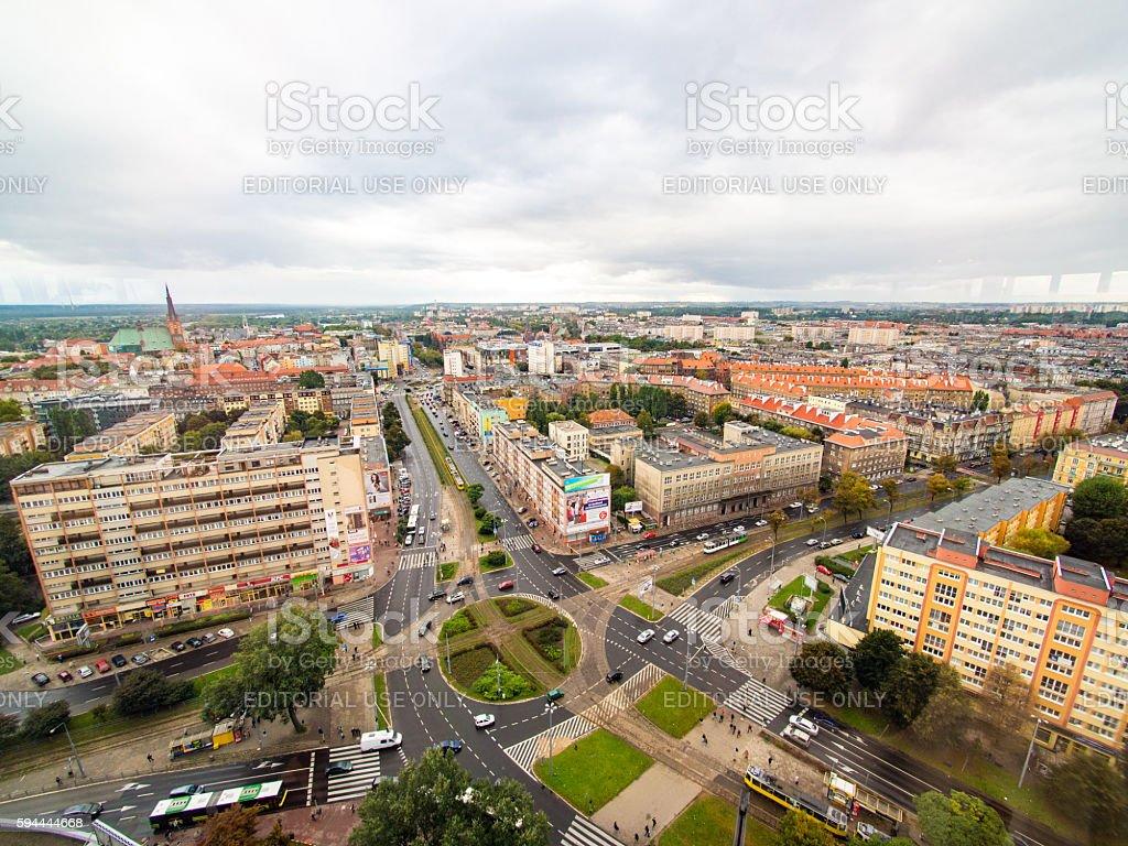Szczecin, Poland stock photo