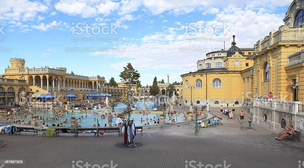 Szechenyi Bath stock photo