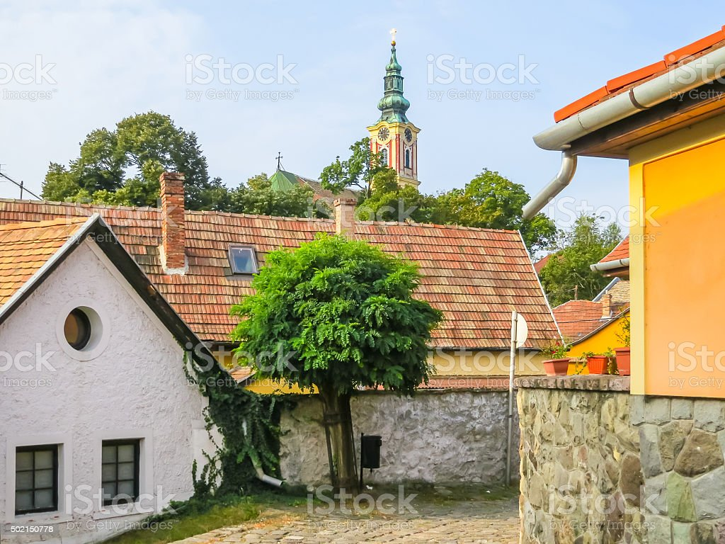 Szentendre, small town in Hungary stock photo