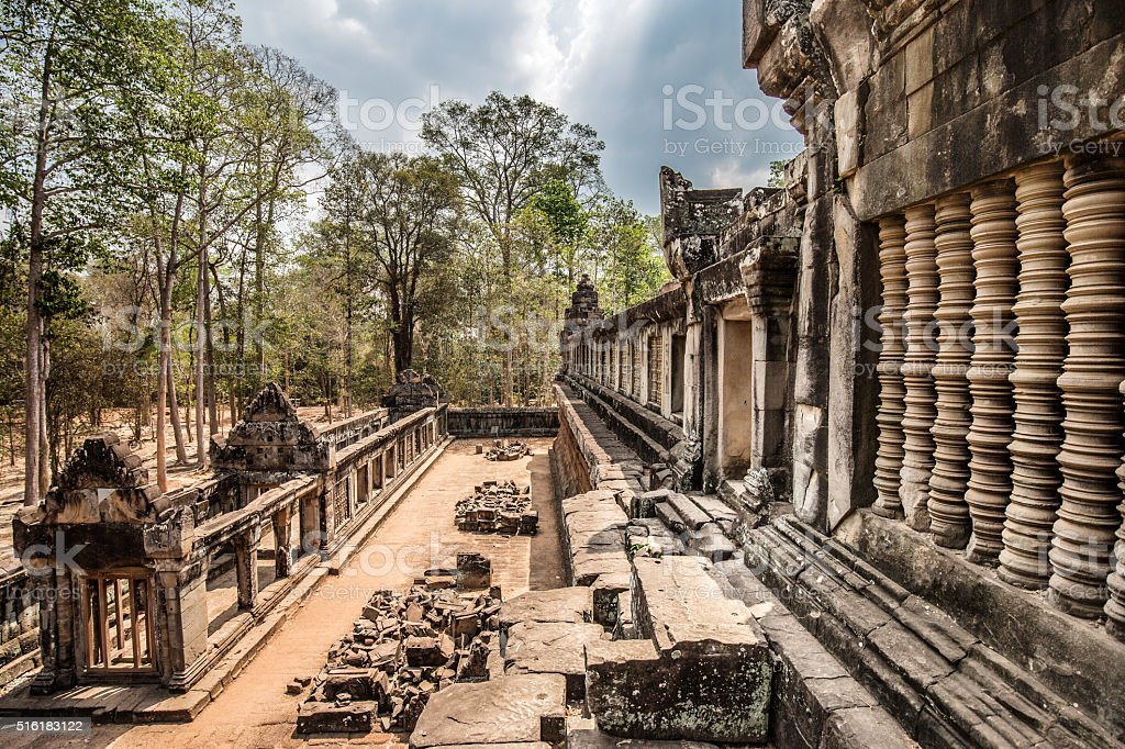 Ta Keo temple Angkor ruins Cambodia stock photo