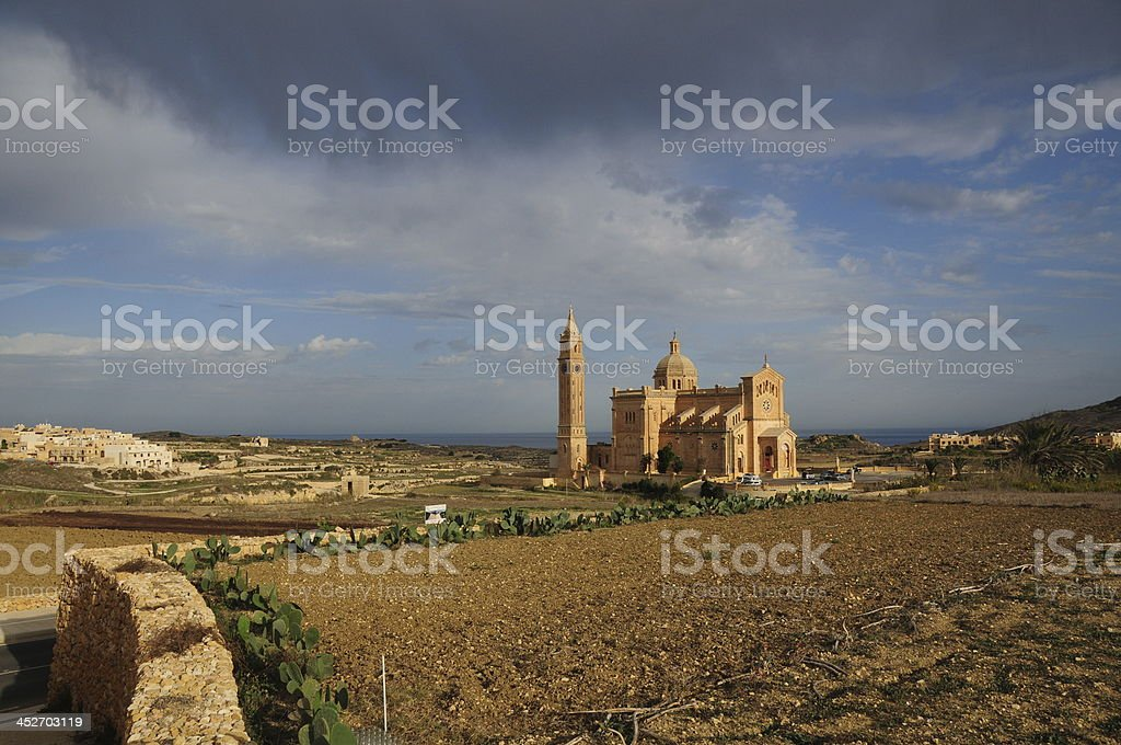 Ta' Pinu Basilica,Gozo,Maltese Islands. royalty-free stock photo