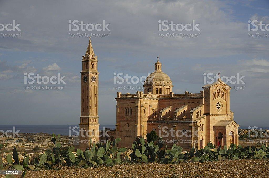 Ta' Pinu Basilica,Gozo,Maltese Islands. royalty-free stock photo