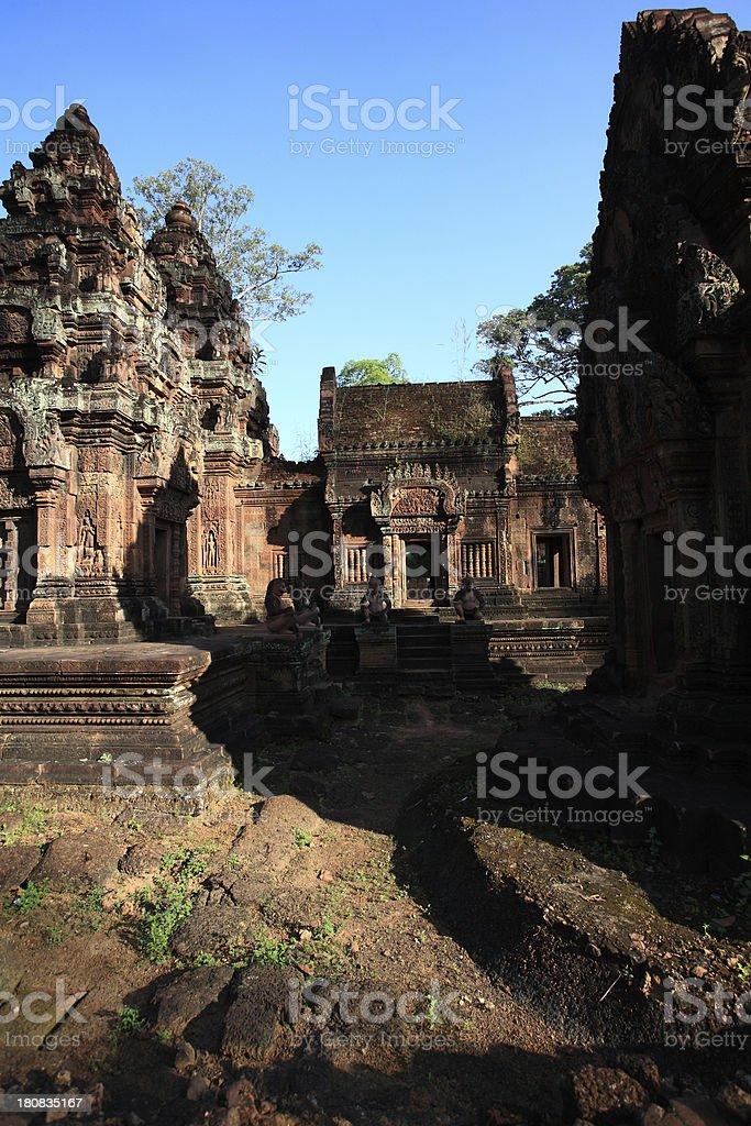 Ta Prohm Temple, Cambodia royalty-free stock photo
