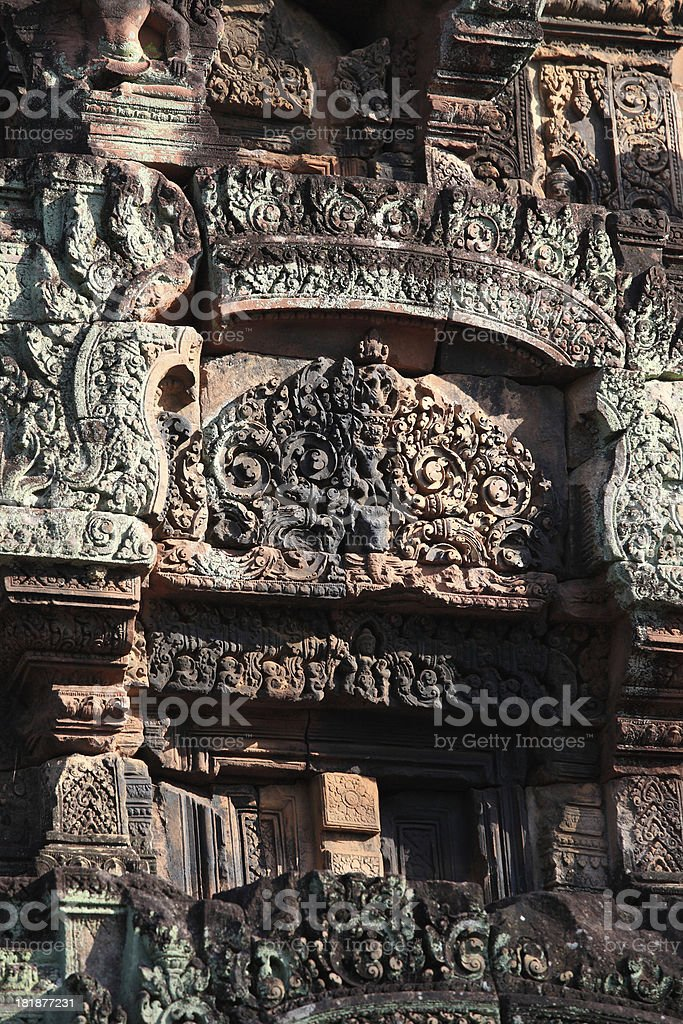 Ta Prohm Temple, Cambodia royalty-free stock photo