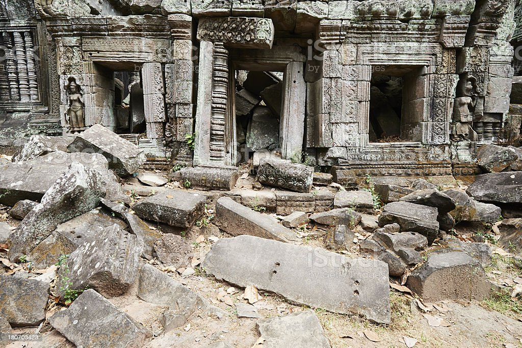 Ta Prohm Temple royalty-free stock photo