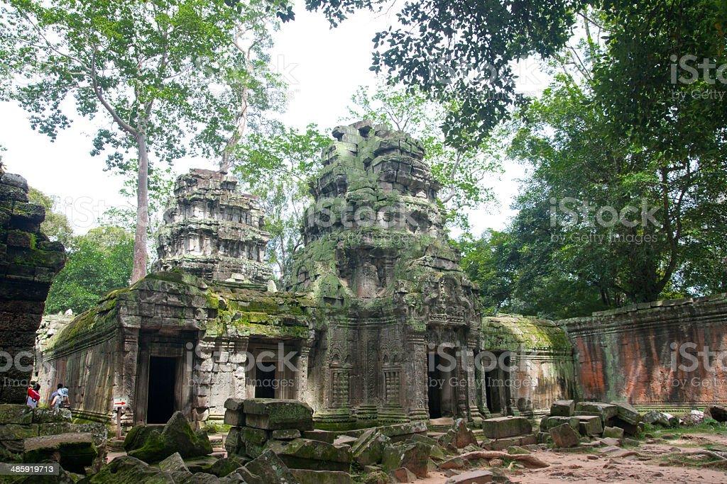 ta prohm,Cambodia stock photo