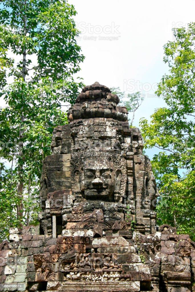 Ta Som in Angkor stock photo
