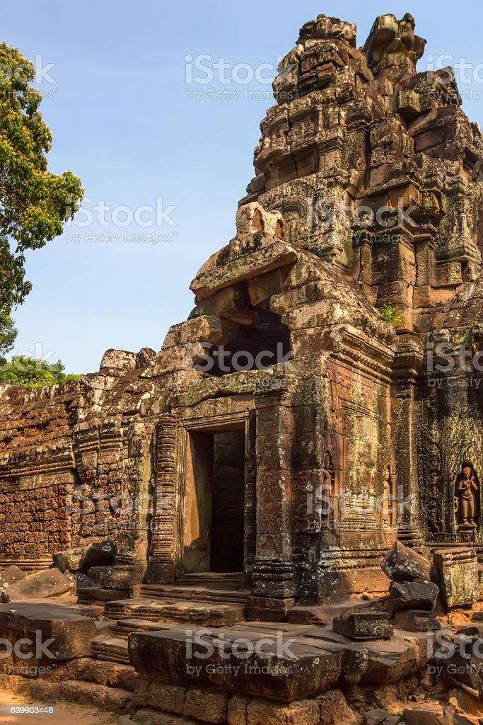 Ta Som temple, Angkor area, Siem Reap, Cambodia stock photo