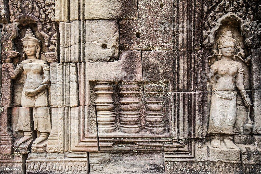 Ta Som temple Angkor Cambodia stock photo