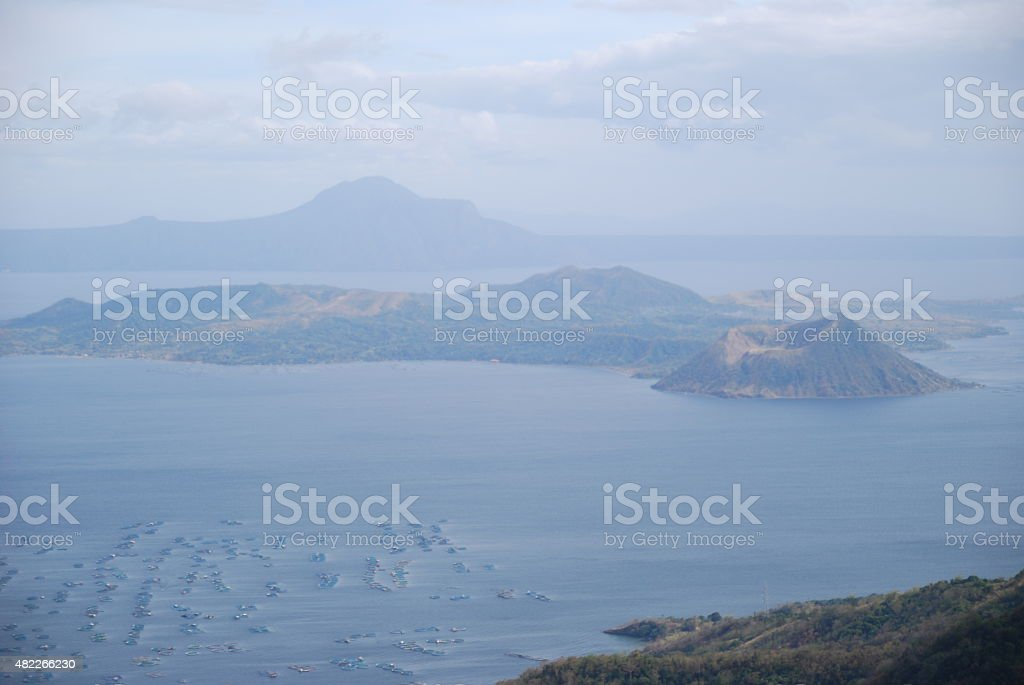 Taal Lake stock photo