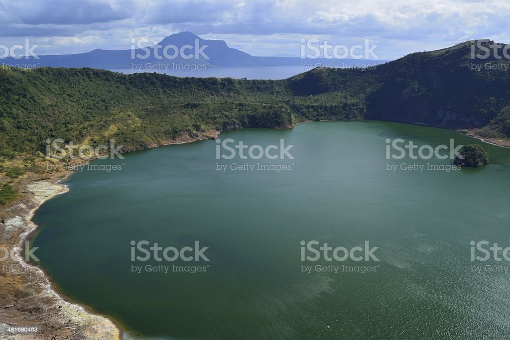Taal Volcano Island, Philippines stock photo
