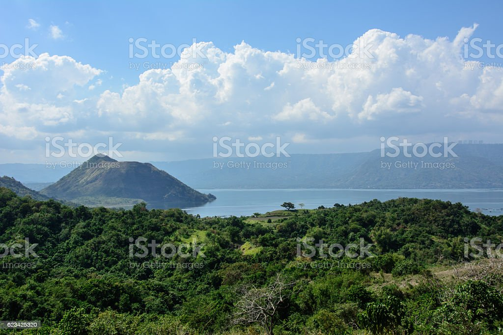 Taal Volcano, Luzon Island of the Philippines stock photo
