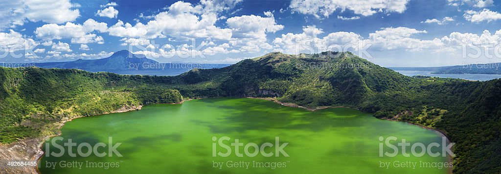 Taal volcano, Manila, Philippines stock photo