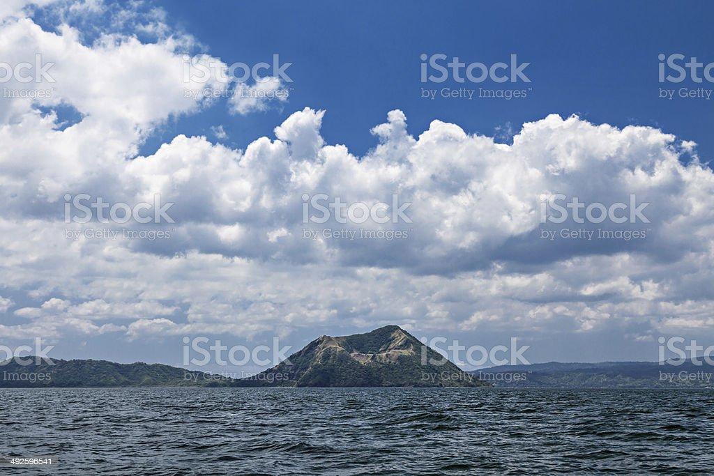 Taal volcano, Philippines stock photo
