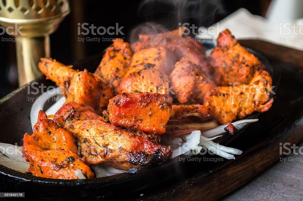 Taandori Chicken stock photo