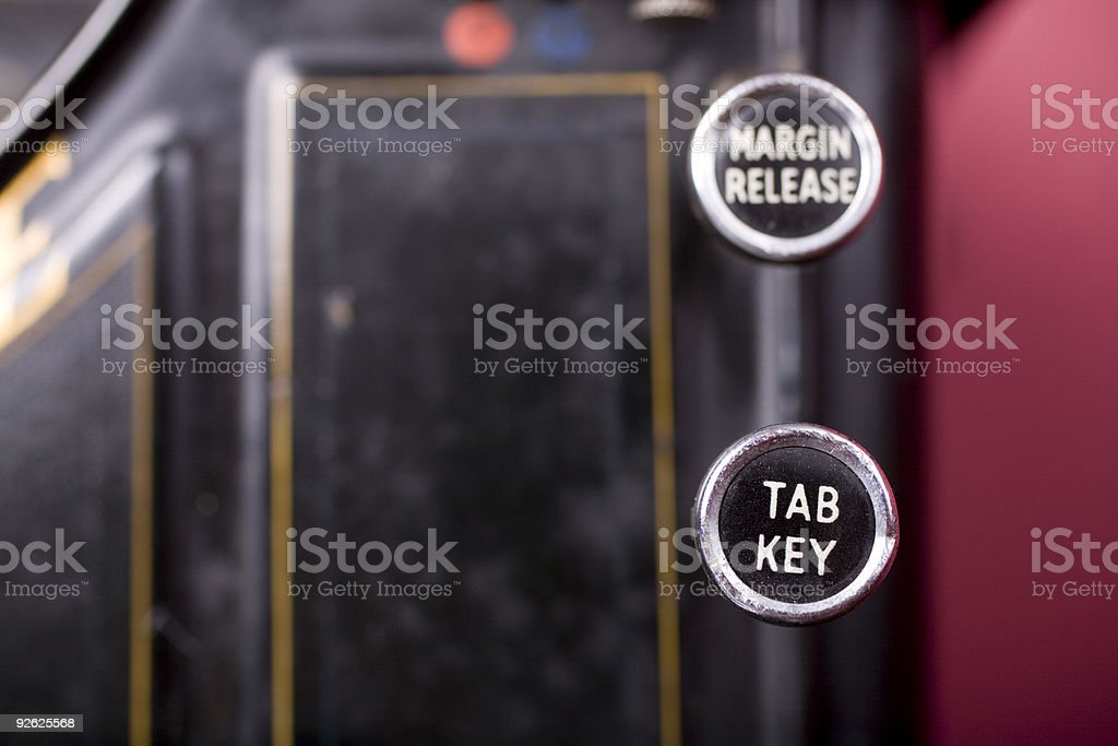 Tab Key stock photo