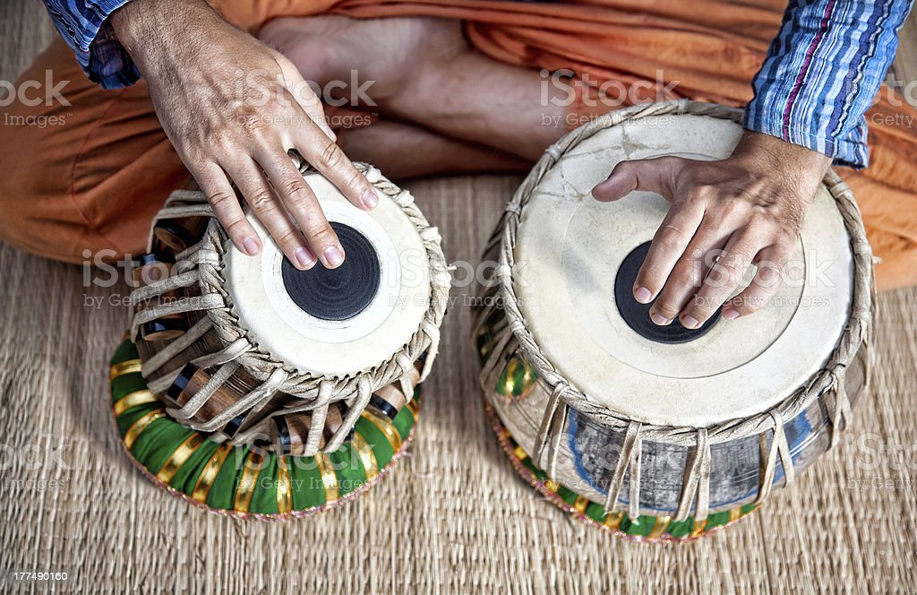 Tabla drums royalty-free stock photo
