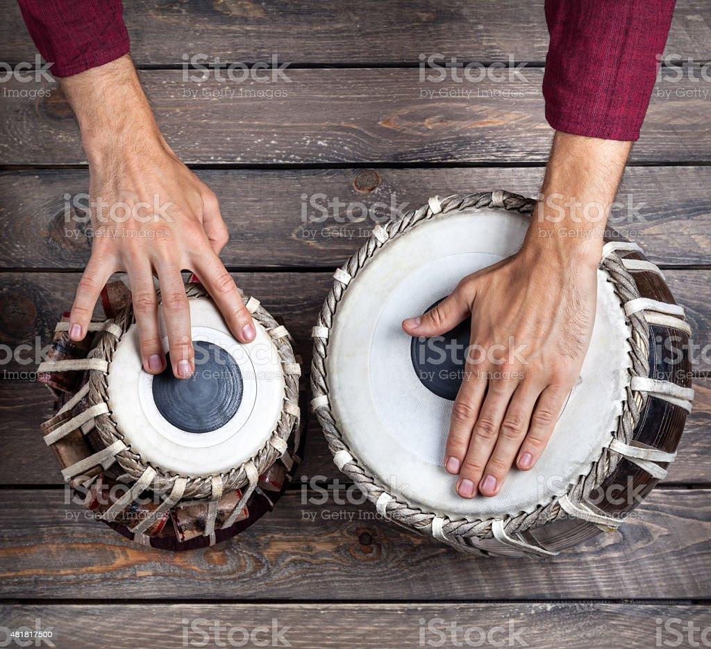 Tabla drums stock photo