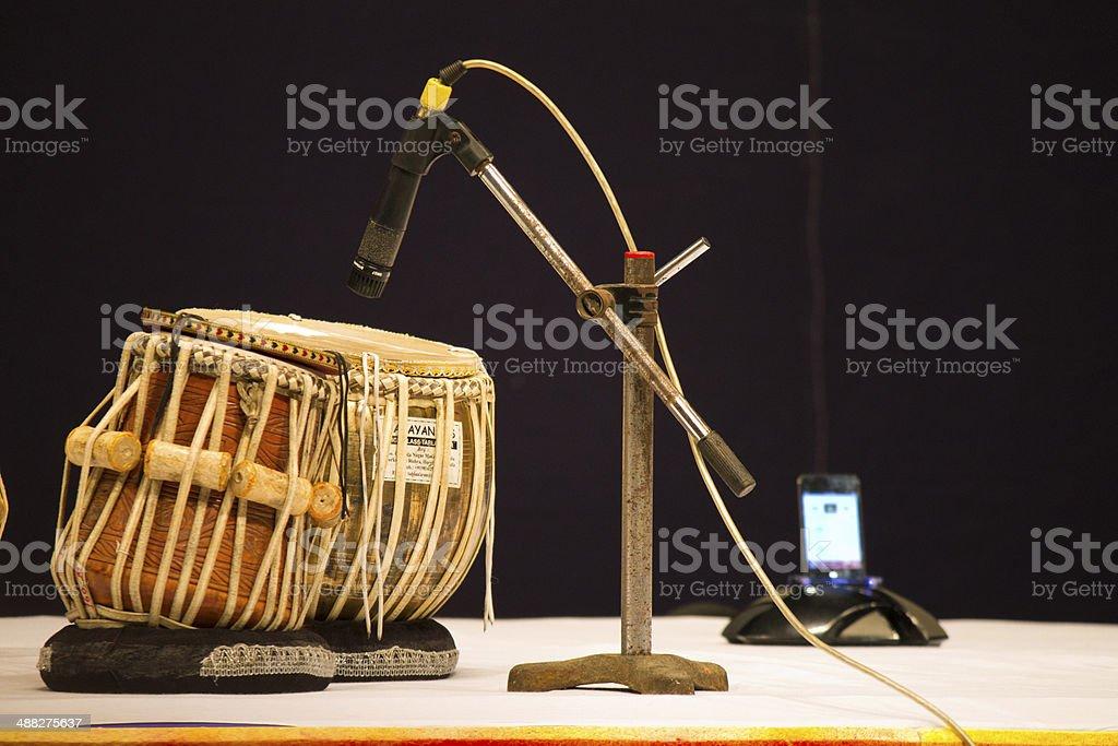 Tabla music instrument. royalty-free stock photo